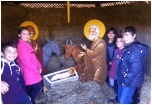 Η φάτνη του Χριστού στην Ιερά Μονή (Δεκ 2013)