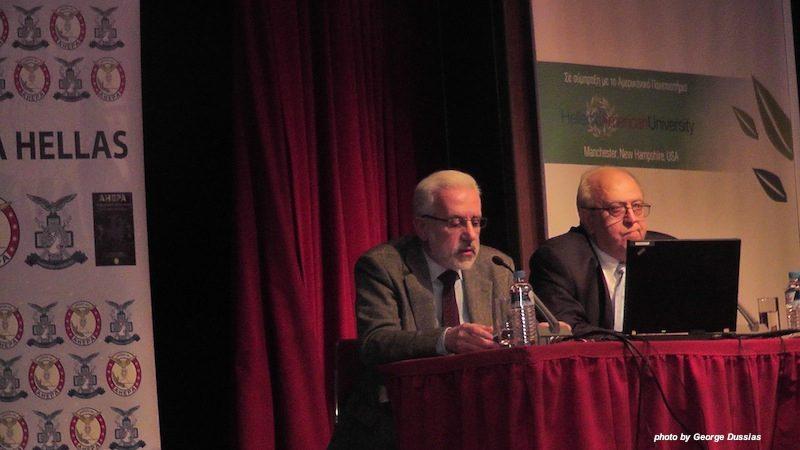 Νίκος Μπάης, οικονομολόγος και Ορέστης Σεϊμένης, Διδάσκων στο Μεταπτυχιακό του Οικονομικού Πανεπιστημίου Αθηνών, φοροτεχνικός σύμβουλος της Ένωσης Ιδιοκτητών Ακινήτων των Απόδημων Ελλήνων και συγγραφέας